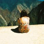 Machu Picchu self portrait