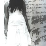 School Hit by Katrina, self-portrait